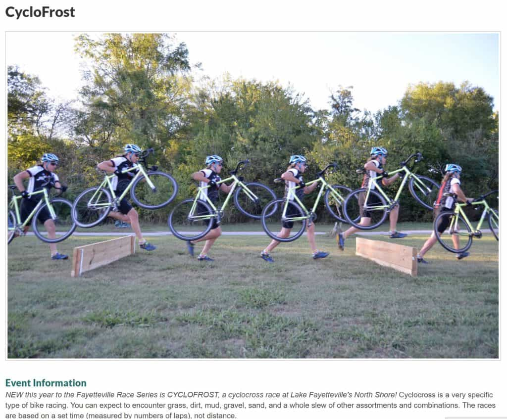 Tuesday Shorts 12/5 - Ozark Cycling Adventures, Cycling news and Routes in Northwest Arkansas