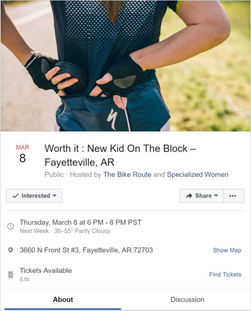 Weekend Ride Notification 3/9 - Ozark Cycling Adventures, Cycling news and Routes in Northwest Arkansas