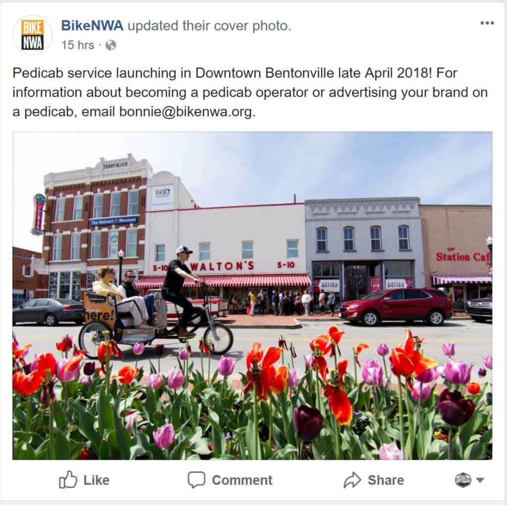 Weekend Ride Notification 4/13 - Ozark Cycling Adventures, Cycling news and Routes in Northwest Arkansas