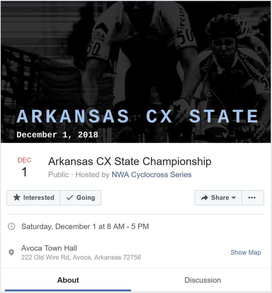 What's Up With All The NEW Cyclocross Events In NWA? - Ozark Cycling Adventures, Cycling news and Routes in Northwest Arkansas NWA