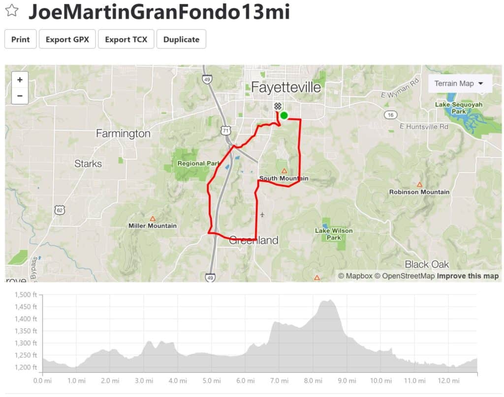 2019 JOE MARTIN GRAN FONDO - Ozark Cycling Adventures, Cycling news and Routes in Northwest Arkansas NWA