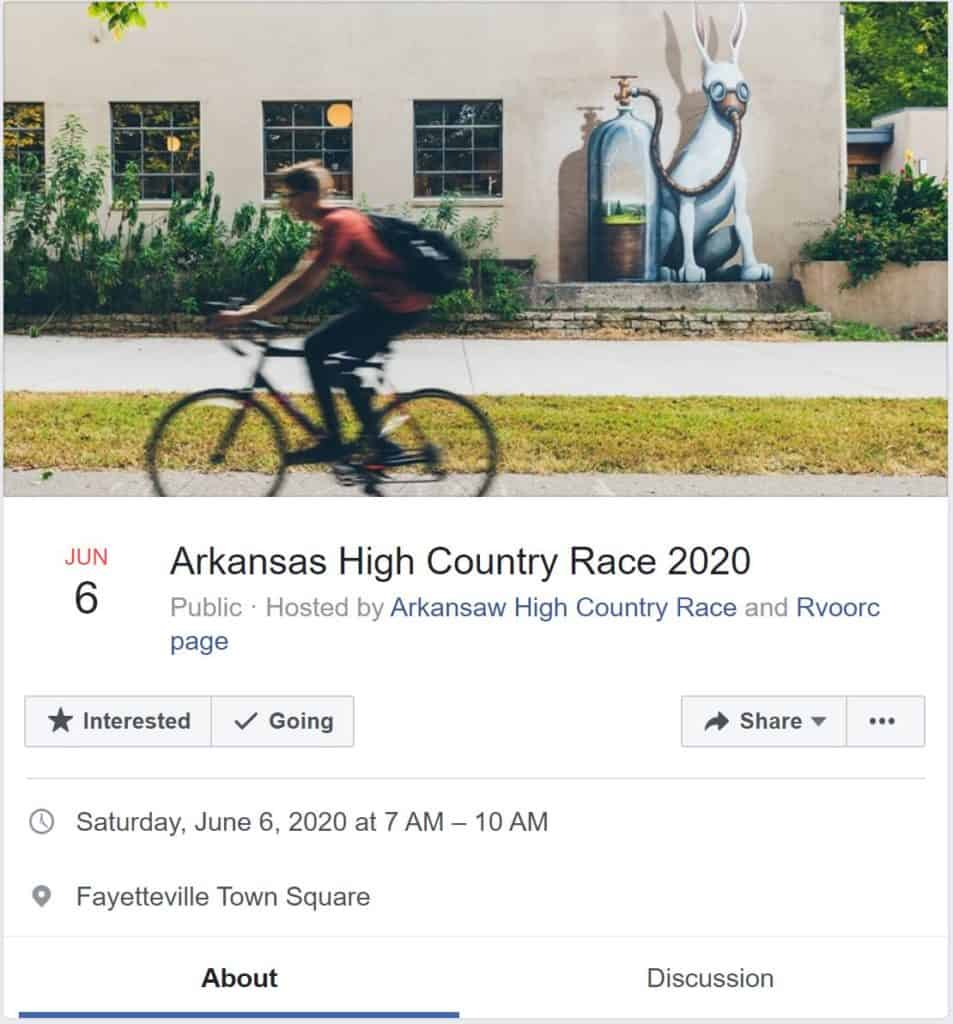 GROUP RIDES & EVENTS IN FAYETTEVILLE - Ozark Cycling Adventures, Cycling news and Routes in Northwest Arkansas NWA