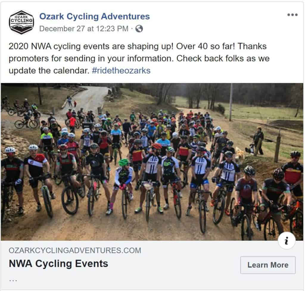 Monday Shorts 12/30 | NWA Cycling News - Ozark Cycling Adventures, Cycling news and Routes in Northwest Arkansas NWA