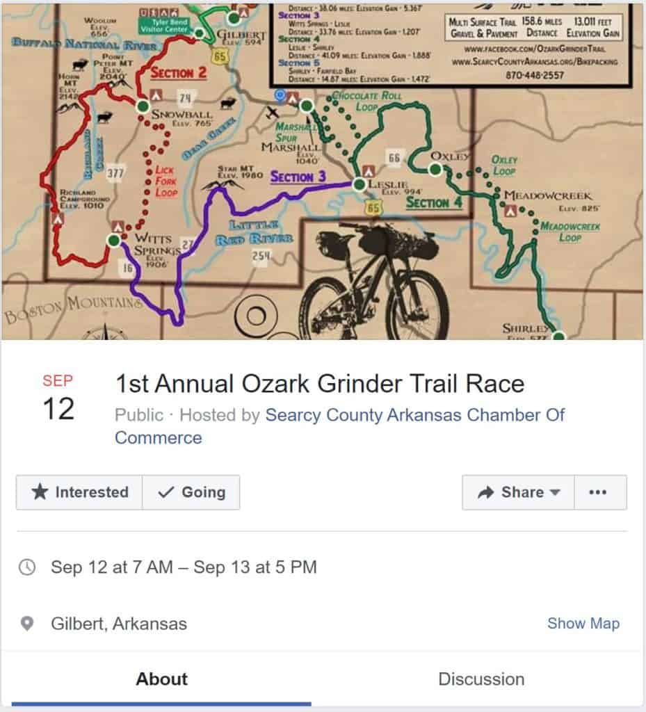 Weekend Ride Notification 9/15 - Ozark Cycling Adventures, Cycling news and Routes in Northwest Arkansas NWA
