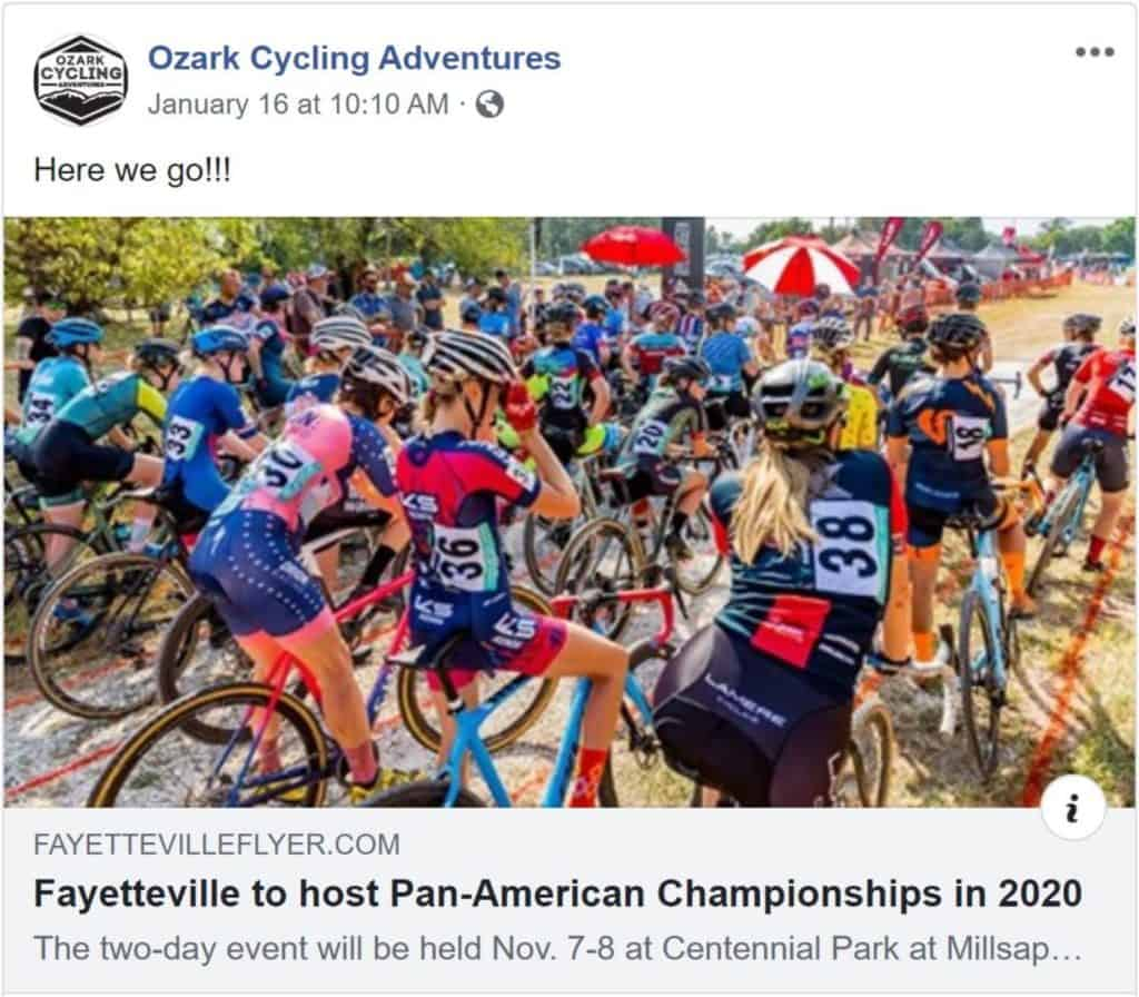 Tuesday Shorts 1/21   NWA Cycling News - Ozark Cycling Adventures, Cycling news and Routes in Northwest Arkansas NWA