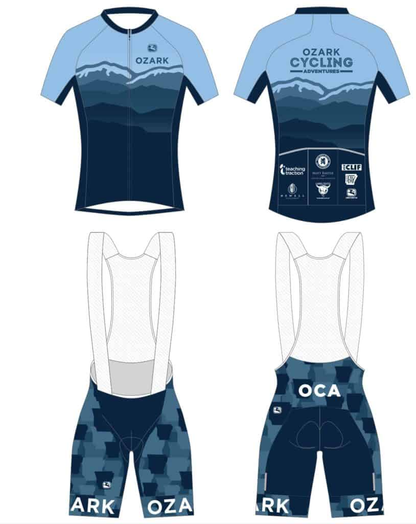 OCA Kit Pre-Order - Ozark Cycling Adventures, Cycling news and Routes in Northwest Arkansas NWA