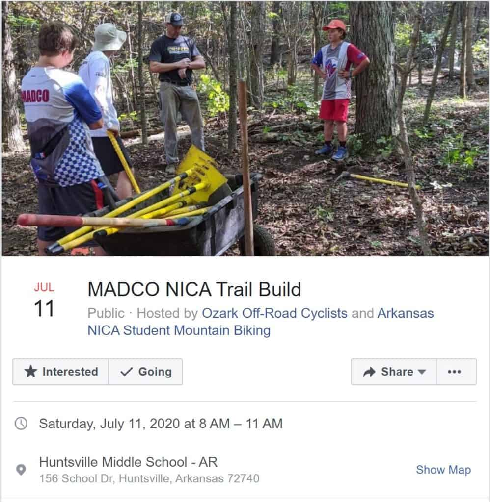 Weekend Ride Notification 9/20 | NWA Cycling News - Ozark Cycling Adventures, Cycling news and Routes in Northwest Arkansas NWA