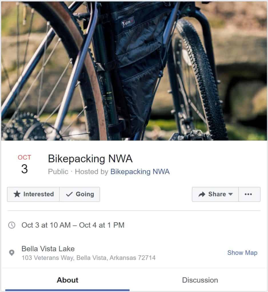 Weekend Ride Notification 3/18 - Ozark Cycling Adventures, Cycling news and Routes in Northwest Arkansas NWA