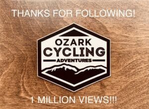1 Million - Ozark Cycling Adventures, Cycling news and Routes in Northwest Arkansas NWA