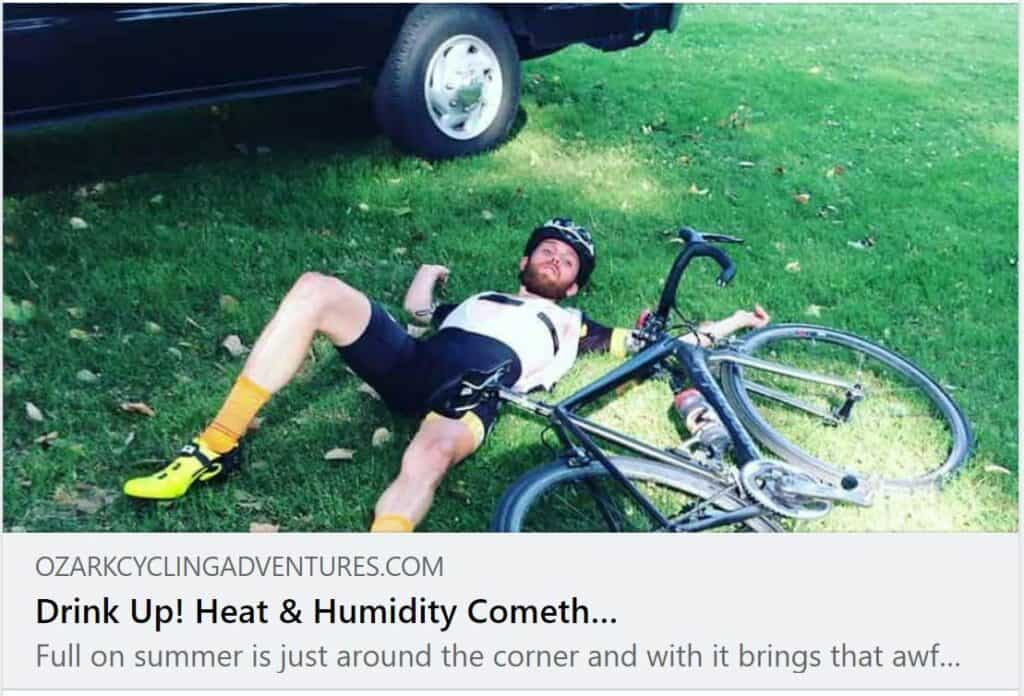 Tuesday Shorts 8/3 NWA Cycling News - Ozark Cycling Adventures, Cycling news and Routes in Northwest Arkansas NWA
